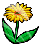 Spring Flower Pin icon
