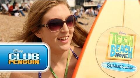 Let's Hit The Beach in Brighton! - Teen Beach Movie Summer Jam