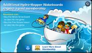 Hydro Hopper Mmembership Error