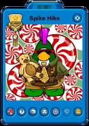 Spike Hike's Holiday Player Card
