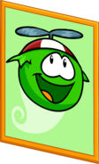 Green Puffle Poster sprite 003