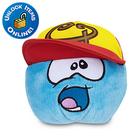 Swing Batta Batta Hat blue puffle plush