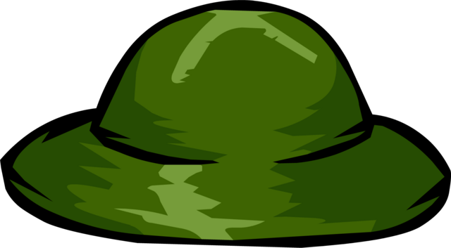 File:Green Safari Hat clothing icon ID 1062.png