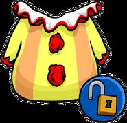 Unlockable clown suit