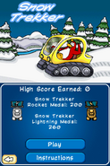CPEPF Snow Trekker Title Screen