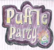 Puffle Party 2013 drawing