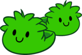 Green Puffle Slippers icon