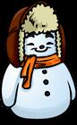 Orange Scarf Snowman sprite 008