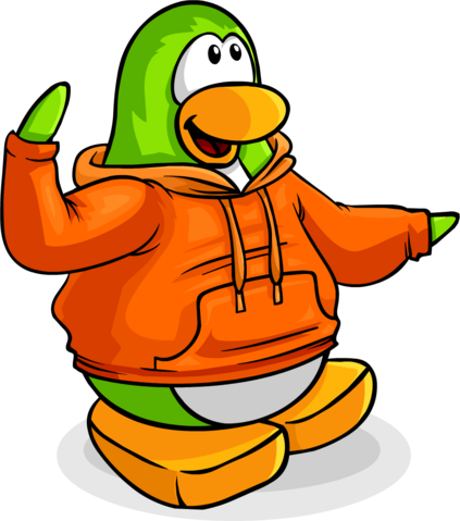 File:Penguin Style August 2009 orange hooded penguin clear.png
