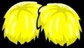 Yellow Pompoms