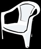 White Plastic Chair sprite 002