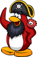 Rockhopper Waving2