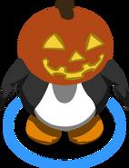 Glowing Pumpkin Head ingame