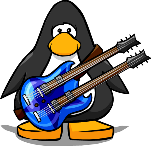 File:Blue Double Necked Guitar from a Player Card.PNG