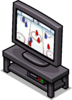 Black TV Stand sprite 016