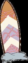 McKenzie'sSurfboard