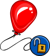 Cherry Balloon unlockable icon