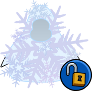 Snowflake Costume clothing icon ID 14465