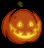 Spooky Jack-O-Lantern sprite 006