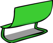 Green Bench sprite 003