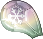 Amulet Snow Gem Clear