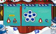 Merry Walrus Party interface uncompleted page 2