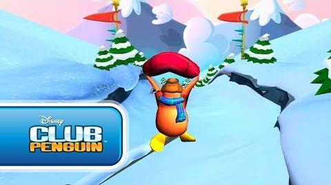 Sled Racer New Gameplay Sneak Peek - Disney Club Penguin