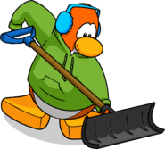 Loading screen shovel