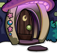 Wizard's Workshop Background photo (open door)