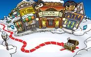 Rockhopper's Arrival Party Plaza