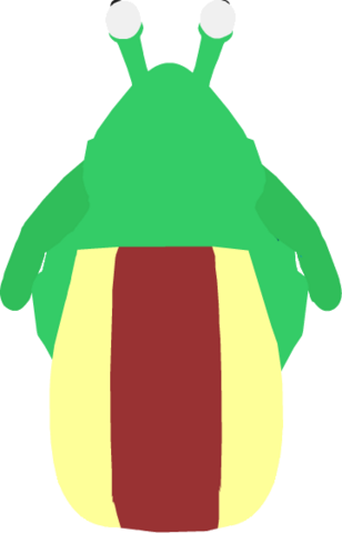 File:Snail Costume In-Game (Back).png