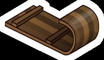 Toboggan Pin