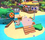 Coconut Cove lifeguard station
