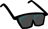 Black Sunglasses clothing icon ID 101