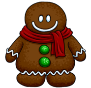 Gingerbread Costume from a Player Card