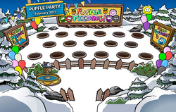 10th Anniversary Party Puffle Feeding Area