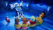 Rockhopper and friends captured by Herbert