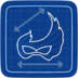 Blueprint Costume Ball Mask icon