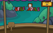 PufflePaddleBrownPuffle