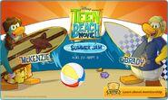 Teen Beach Movie Pre-awareness log-off screen