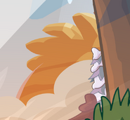 Puffle Mountain as seen in issue 490 and 485 of the Club Penguin Times