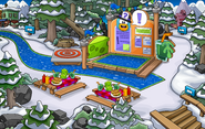 Club Penguin Island Party Forest 2