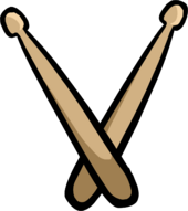 Drumsticks clothing icon ID 340
