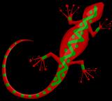 Wall Gecko sprite 003