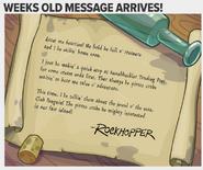 Club Penguin Times Issue 437 Rockhopper letter