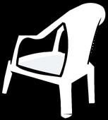 White Plastic Chair sprite 003