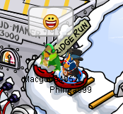 File:Fun wth Macgure Sled Racngand others Puffle Party 2013