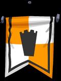Orange Banner sprite 005