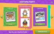 Zootopia Party interface page 2