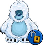 Yeti Costume unlockable icon